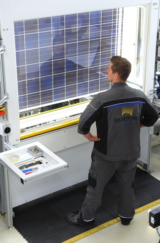 SolarWorld Modulfertigung 7863