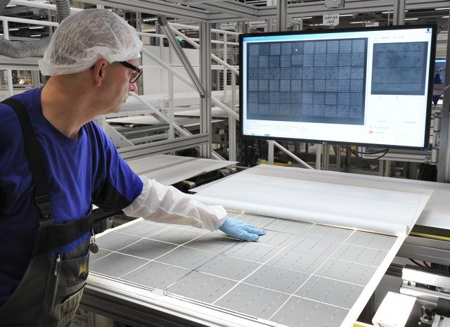 SolarWorld Modulfertigung 7867