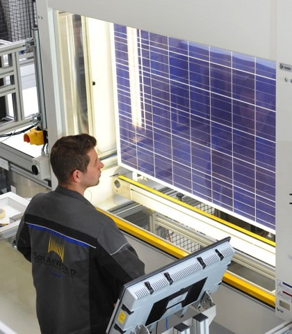 SolarWorld Modulfertigung 7864