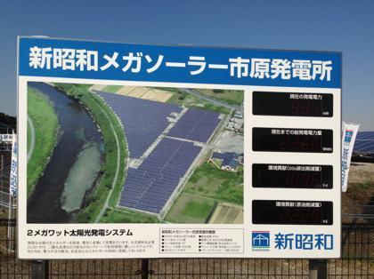 太陽光発電所訪ねて三千里。地球にも自分の懐にも優しい生き方を開拓する新エネルギーマニアの諸国漫遊記-看板